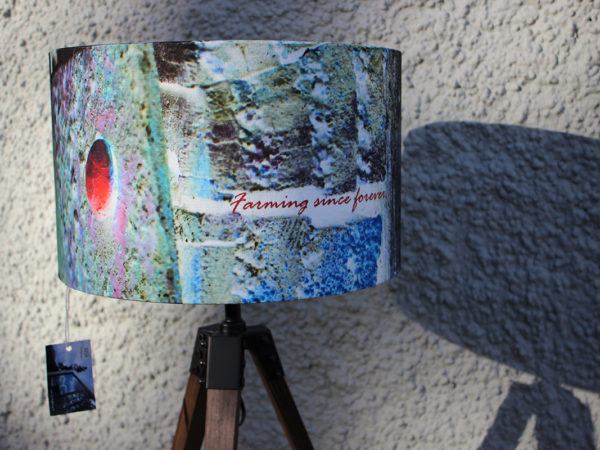 Farmscape lampshade