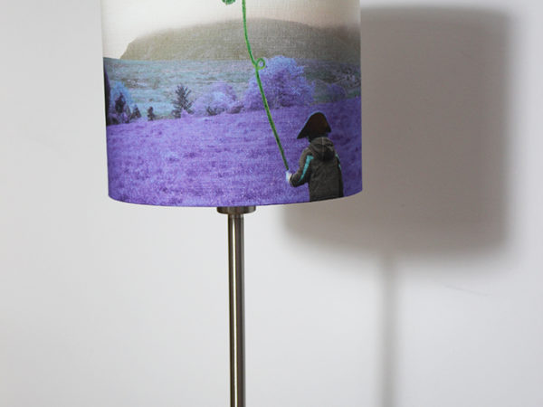The fields of home-flying the shamrock high lampshade
