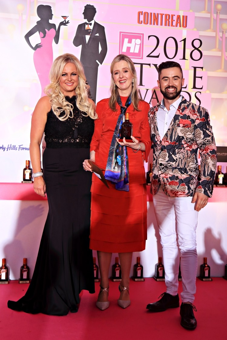 Christine O Donoghue De Vries Winner Of Hi Style S Fashion Designer Of The Year Award 2018 House Of Kerry