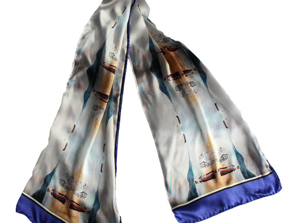 Daniel O'Connell's Derrynane silk scarf