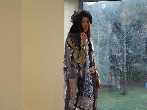 Scellig Sanctuary Silk dress