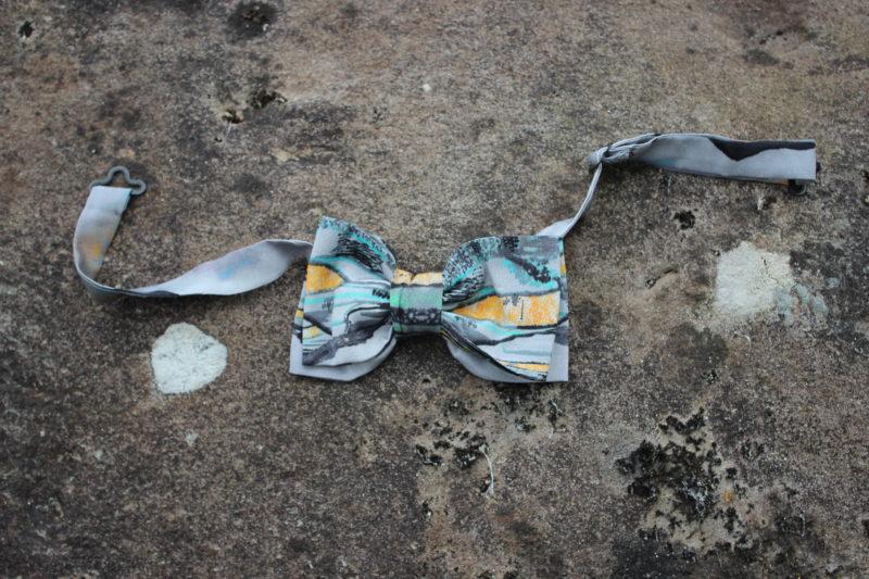 Wearable art bowtie one of kind
