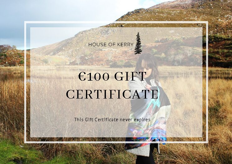 House of Kerry €100 gift vouchers